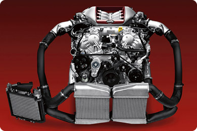 Whats under the hood of the 2020 Nissan GT-R